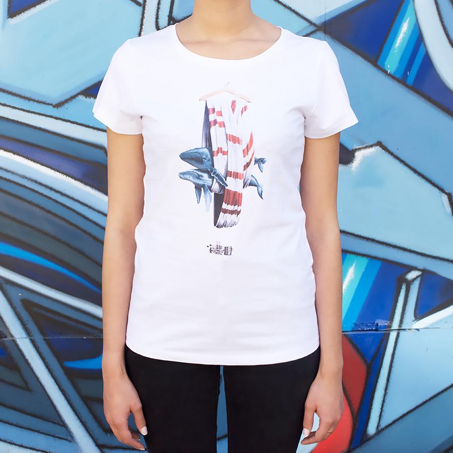 T shirt Femme Grenoble Street Art Festival x NEVERCREW