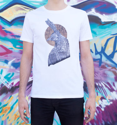 t shirt homme monkey bird