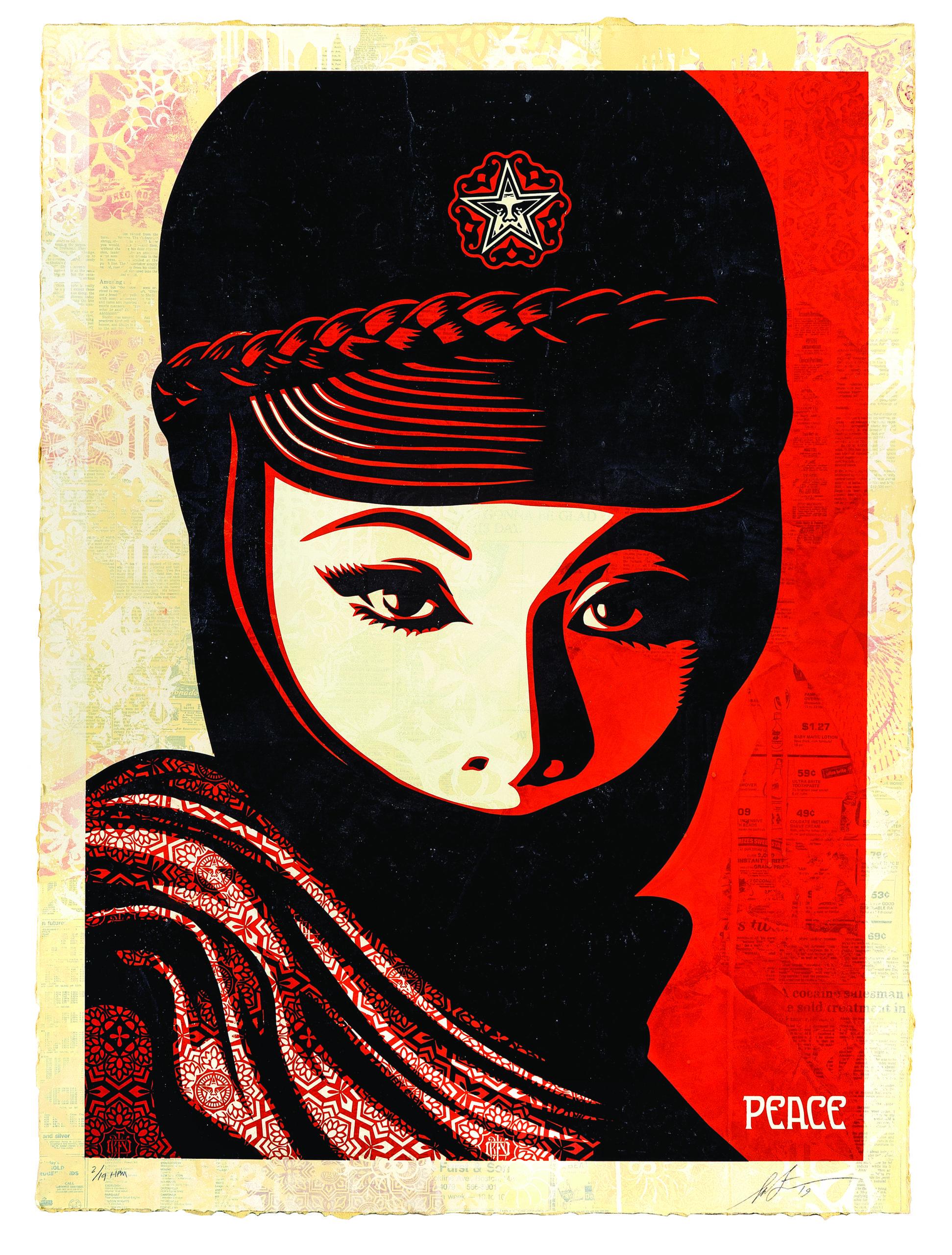 Mujer Fatale   Shepard Fairey